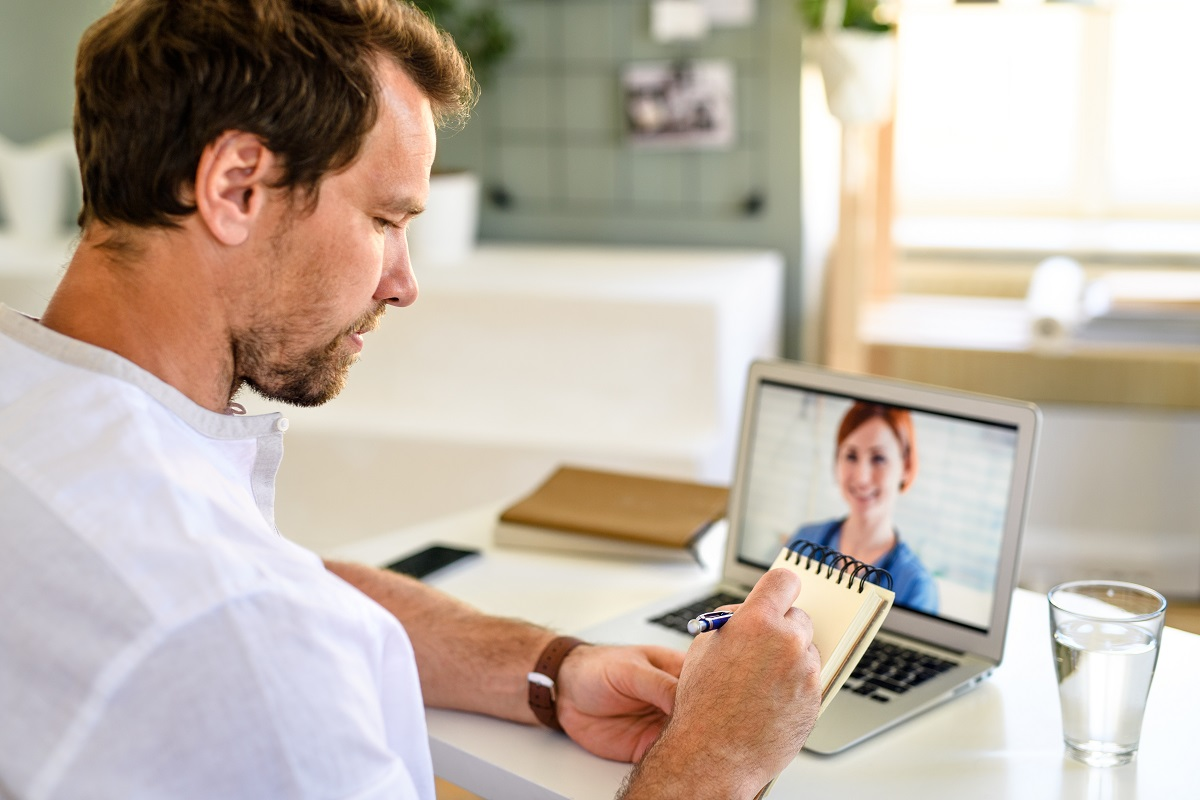 Walk-in and scheduled virtual sessions for healthcare providers